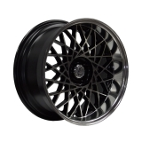LENSO EAGLE-2 8,5x17 5x112 ET25 BLACK MACHINED FACE/POL DISH