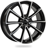 WHEELWORLD WH28 hliníkové disky 8x20 5x114,3 ET40 black full machined