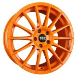 TEC-SPEEDWHEELS AS2 hliníkové disky 7x17 4x108 ET25 race-orange
