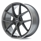 TEC-SPEEDWHEELS GT6 hliníkové disky 8x19 5x120 ET30 dark-grey-polished-lip