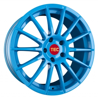 TEC-SPEEDWHEELS AS2 hliníkové disky 7x17 4x98 ET35 smurf-light-blue