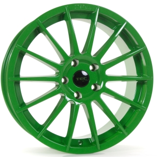 TEC-SPEEDWHEELS AS2 hliníkové disky 7x17 4x98 ET35 race-light-green
