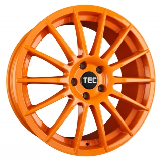 TEC-SPEEDWHEELS AS2 hliníkové disky 7x17 4x98 ET35 race-orange