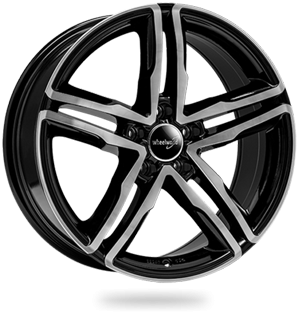 WHEELWORLD WH11 hliníkové disky 7,5x17 5x112 ET28 black full machined