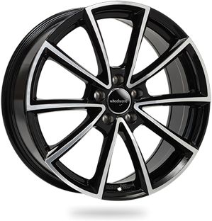 WHEELWORLD WH28 hliníkové disky 7,5x17 5x112 ET35 black full machined